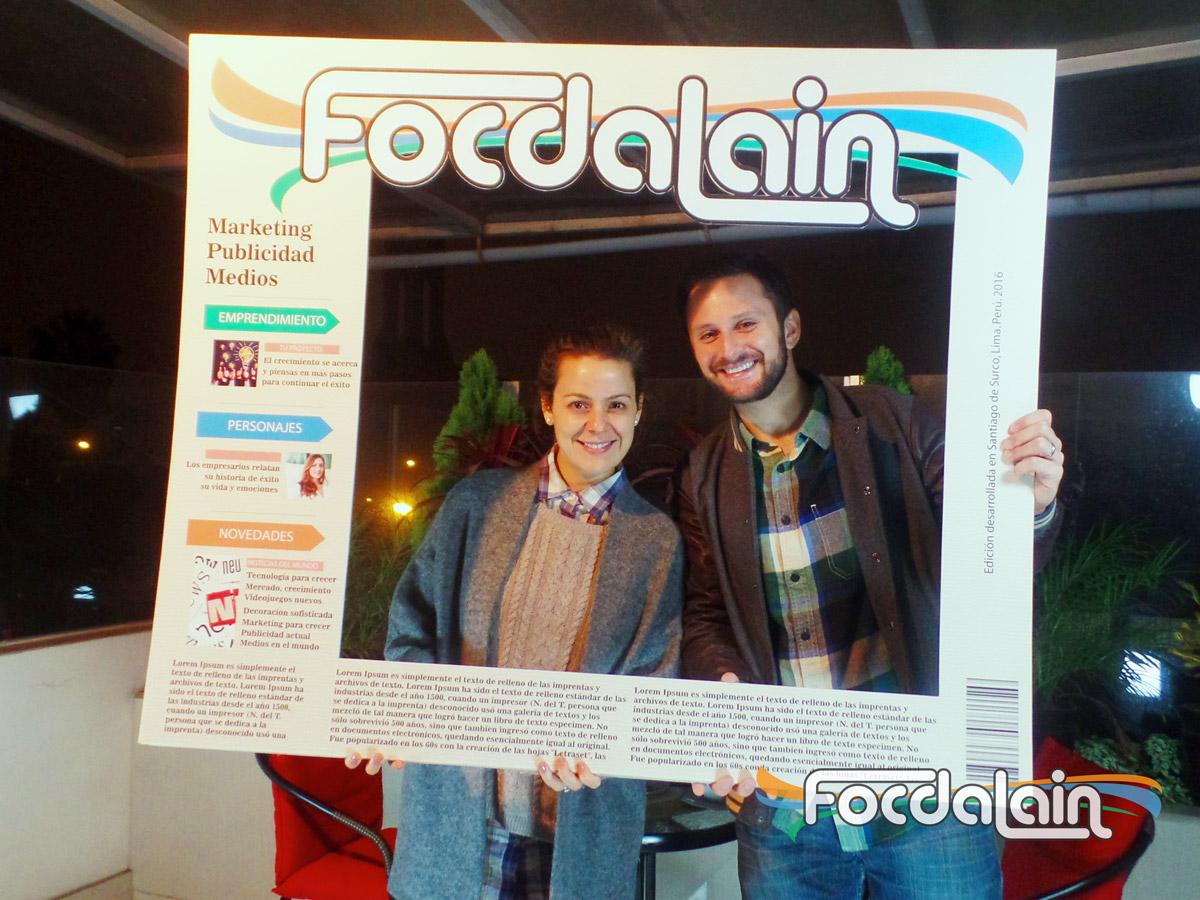 Rodrigo Delgado Ehni y su esposa Lorena Aicardi en Focdalain
